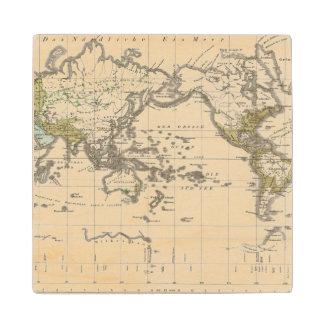 distribution of Indo Germanic people Wood Coaster