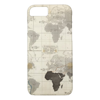 Distribution of rodents and animals iPhone 7 case