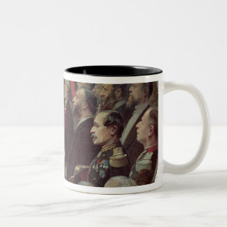 Distribution of the Flags, 14th July 1880 Two-Tone Coffee Mug