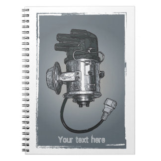 Distributor Ignition Systems Spiral Notebooks