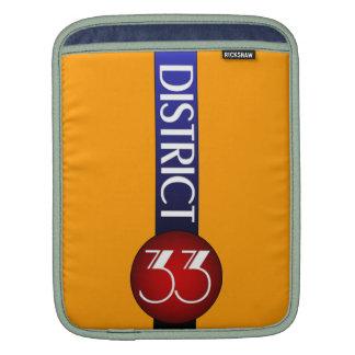 District 33 Logo iPad Sleeves