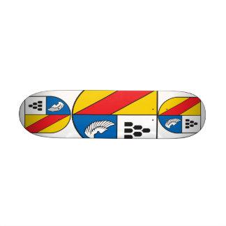 District Emmendingen coat of arms Skateboard