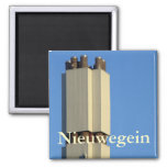 District heating plant, Nieuwegein Refrigerator Magnets