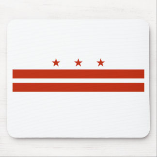 District of Columbia Flag Mouse Pad