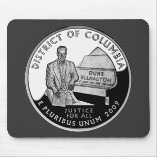 District of Columbia Quarter Mouse Pad