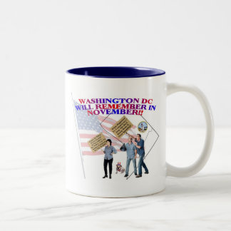 District Of Columbia Return Congress To The People Two-Tone Mug