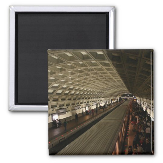 District of Columbia Subway Station kitchen magnet