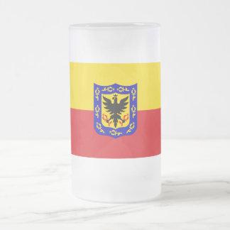 Distrito Capital Flag Frosted Glass Mug