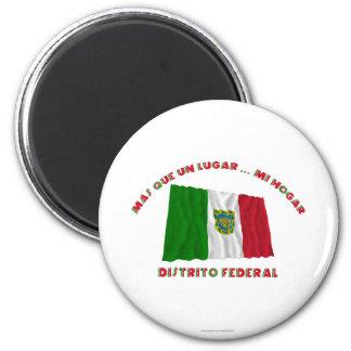 Distrito Federal - Más Que un Lugar ... Mi Hogar 6 Cm Round Magnet