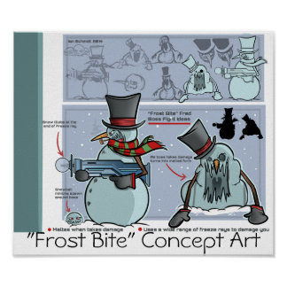 """Distro Horizons""- Frost Bite Poster 2"