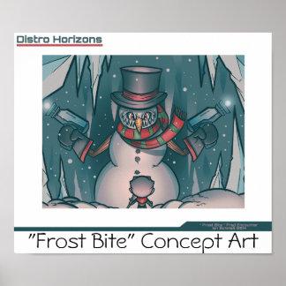 """Distro Horizons""- Frost Bite Poster 3"