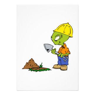 Ditch Digger Alien Announcement