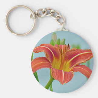 Ditch Lily Basic Round Button Key Ring