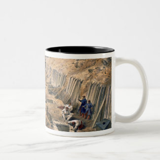 Ditch of the Bastion du Mat, plate from 'The Seat Two-Tone Coffee Mug