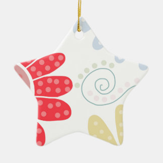 Ditsy Daisies Christmas Ornament