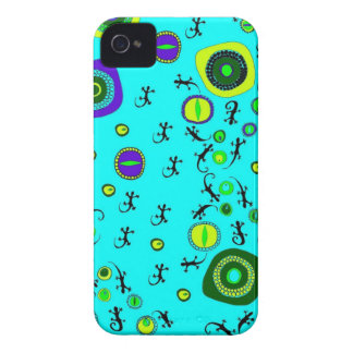 ditsy lizard eyes iPhone 4 Case-Mate case