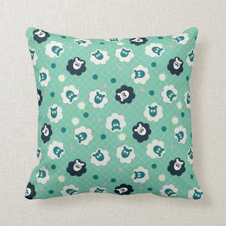 Ditsy Sheep Cushion
