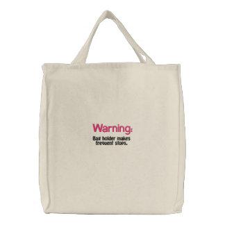 Ditty Bag_Funny Girlz_Warning: Bags