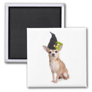 Ditzy Dogs~Original Magnet~Chihuahua~Halloween
