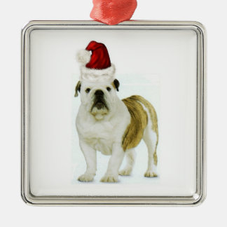Ditzy Dogs~Original Ornament~Bulldog~Christmas Christmas Ornament