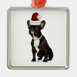 Ditzy Dogs~Original Ornament~French Bulldog Christmas Ornament