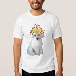 Ditzy Dogs~Original Tee~Poodle~Christmas Tee Shirt
