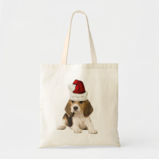 Ditzy Dogs~Original Tote~Beagle~Christmas Tote Bag