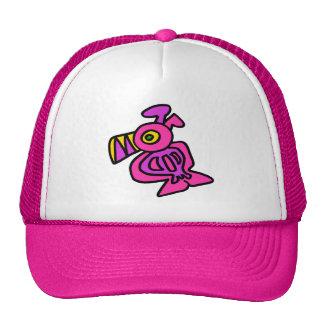 Ditzy Toucan - Pink Mesh Hat