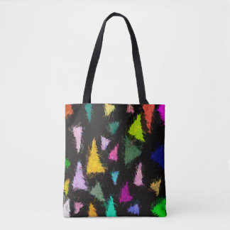 Ditzy Triangles Tote Bag