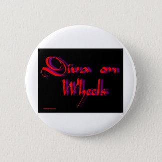 diva 6 cm round badge