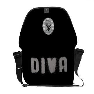Diva Bag (Unstoppable Diva Version) Messenger Bags