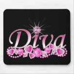 Diva Bling Mouse Pad