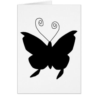 Diva Butterfly Greeting Card