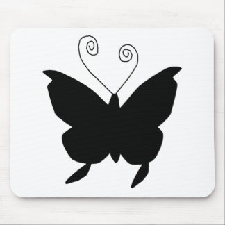 Diva Butterfly Mouse Pad