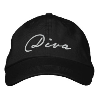 """DIVA"" cap Embroidered Baseball Caps"