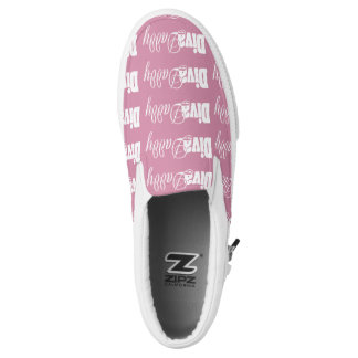 """""""Diva Daddy™ Movement"""" Sneakers [pink & white]"""
