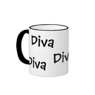 Diva, Diva Ringer Mug
