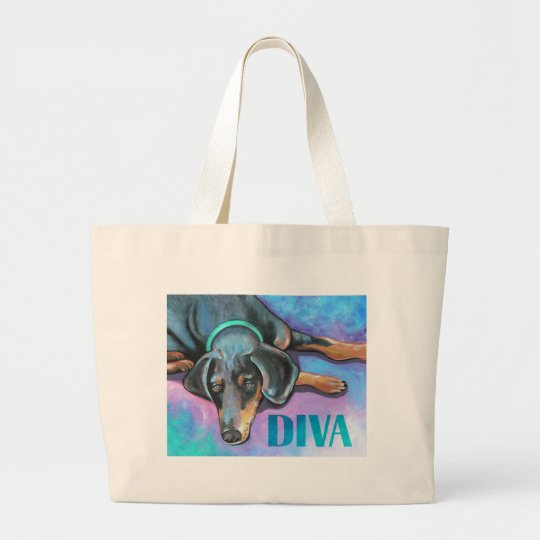 Diva Dog Large Tote Bag