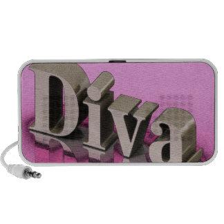 Diva Doodle Notebook Speakers