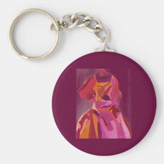 Diva Fashionista Autumn Reds Keychain
