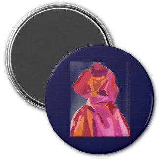 Diva Fashionista Autumn Reds Magnet