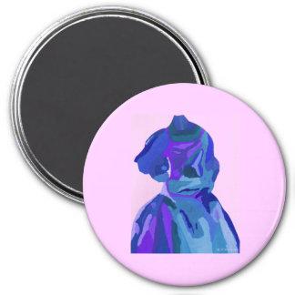 Diva Fashionista In Blue I Magnet
