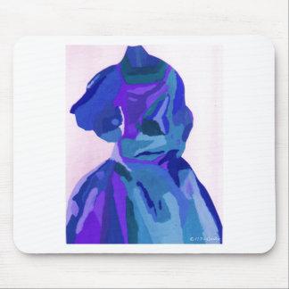 Diva Fashionista In Blue I Mouse Pad