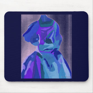 Diva Fashionista In Blue I Mouse Pads