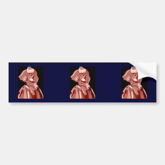 Diva Fashionista In Neutral Car Bumper Sticker