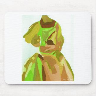 Diva Fashionista In Spring Mouse Mats