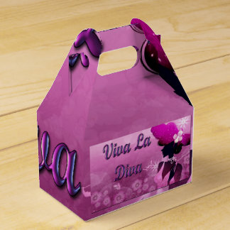 Diva Favor Gifts Favour Box