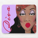 """DIVA is a four letter word...""  Mousepad"
