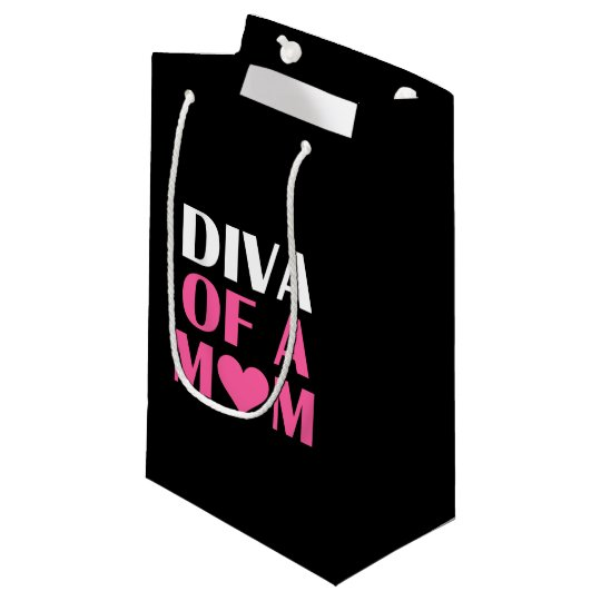 """""""DIVA OF A Mum"""" Small Gift Bag"""