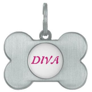 """DIVA"" Pet Tag"